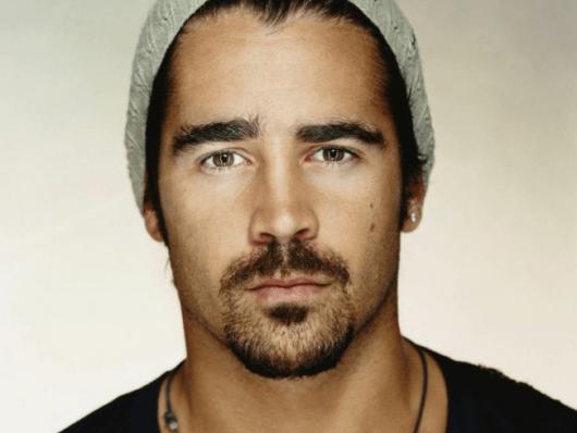 Colin Farrel de barba