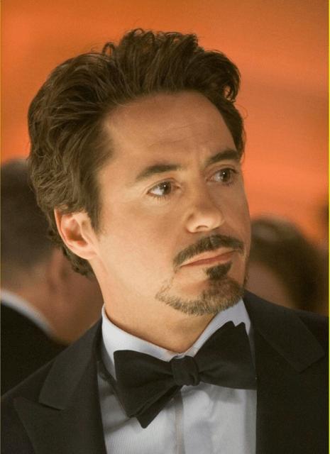 Cavanhaque Robert Downey Jr.