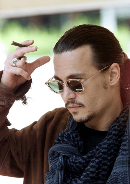 Johnny Depp de cavanhaque