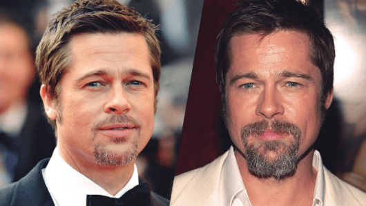 Brad Pitt de cavanhaque