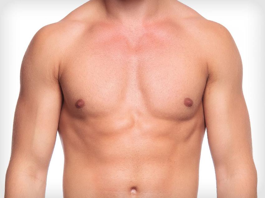peito depilado