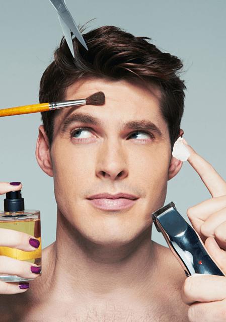 maquiador homem