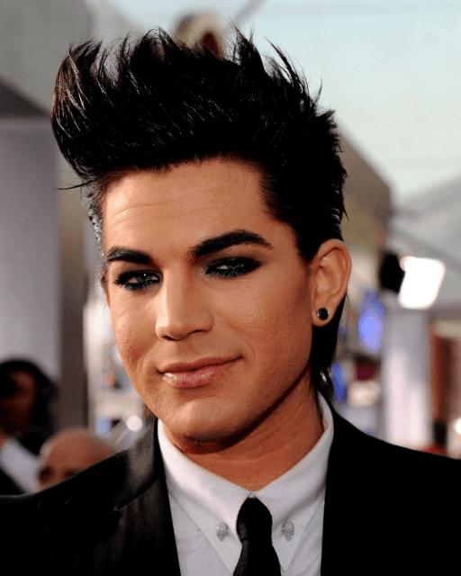 Adam Lambert Maquiado