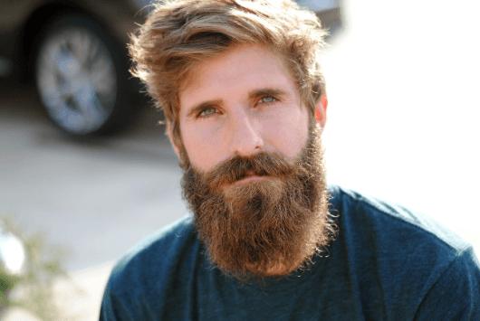 Homem de barba