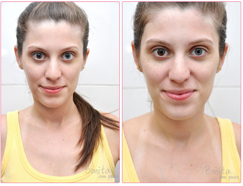mulher antes e depois