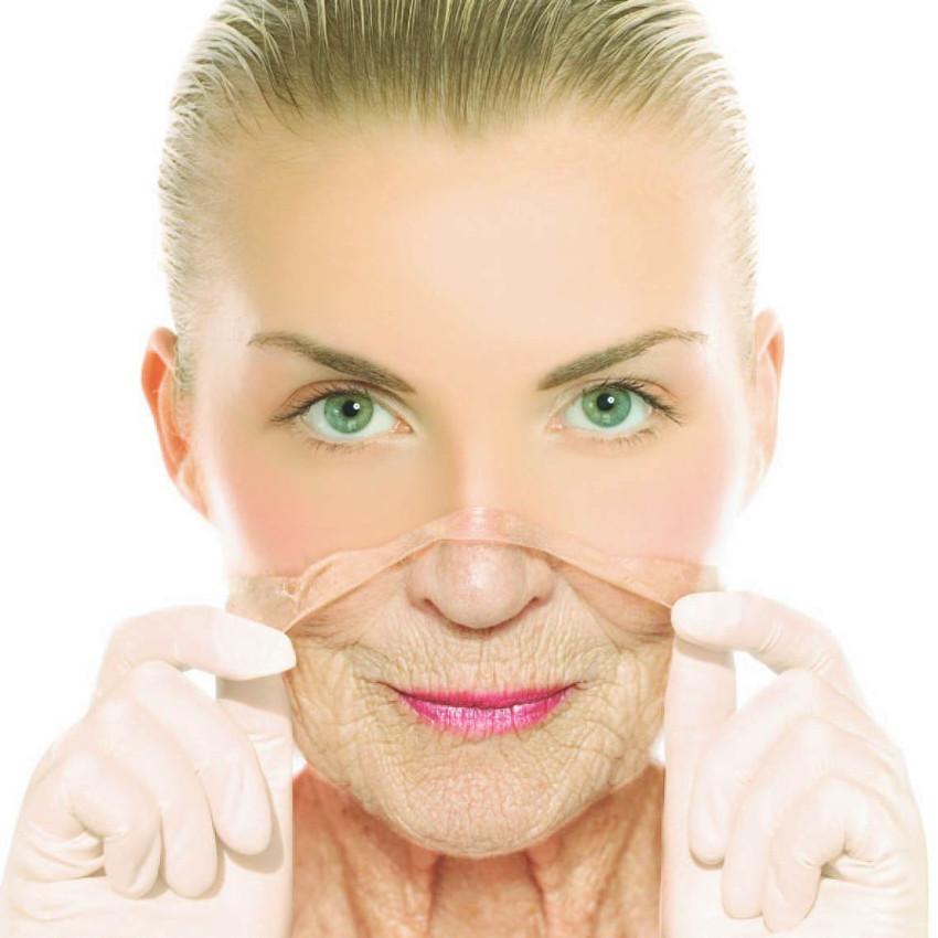 representação da renovação da pele