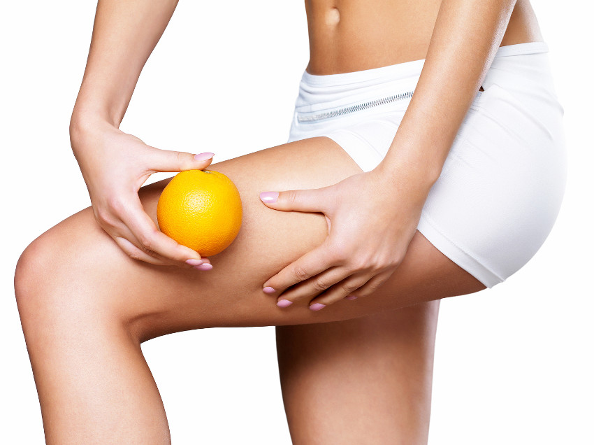 perna casca de laranja feminina