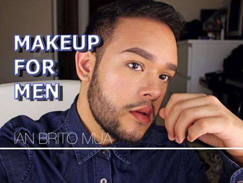 sobrancelha e maquiagem masculina