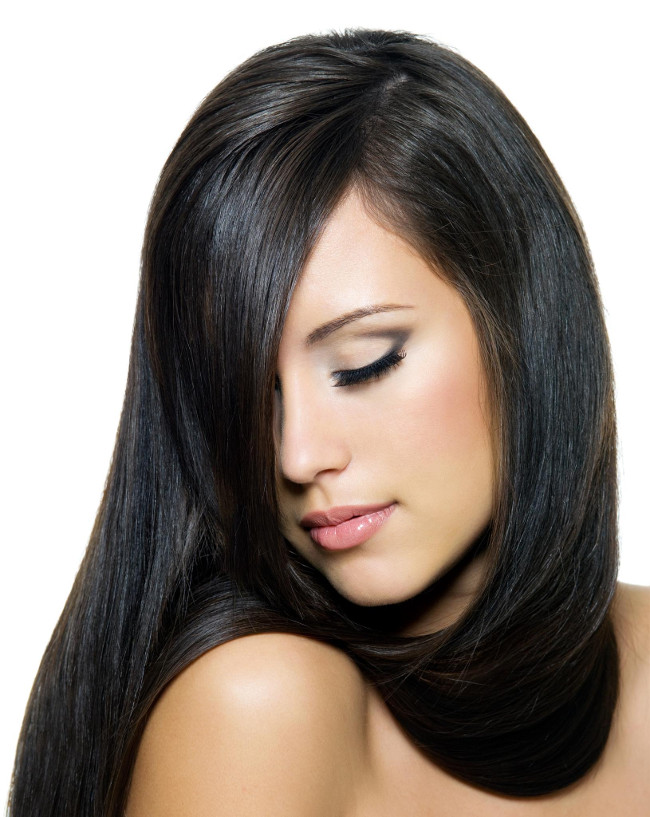 como fazer crescer cabelo liso