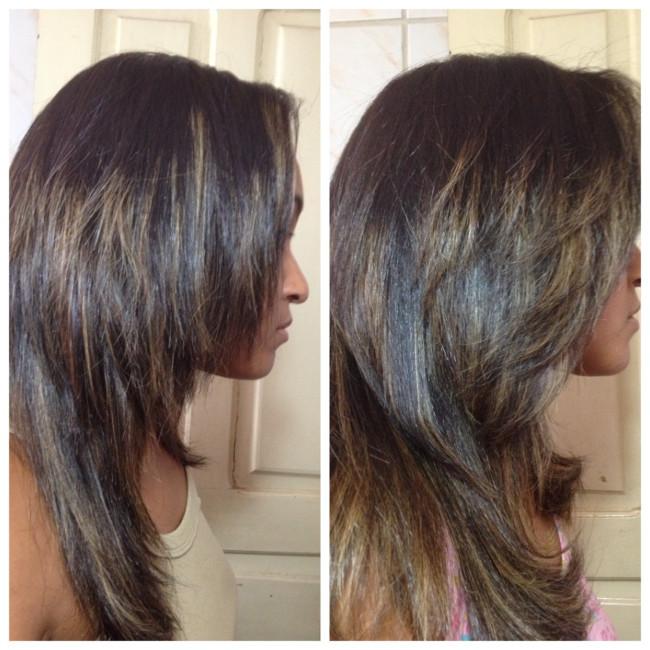 cabelos hidratados e bem cuidados