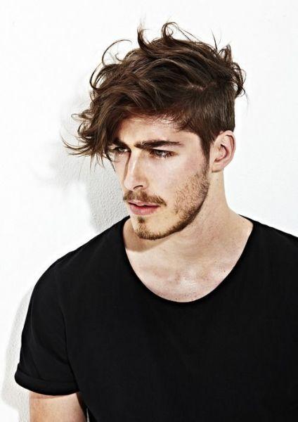 corte cabelo masculino com franja