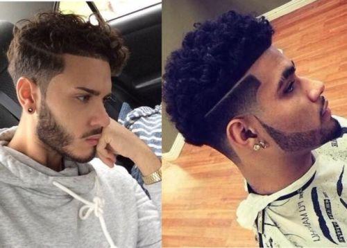 corte de cabelo masculino degradê cabelo crespo