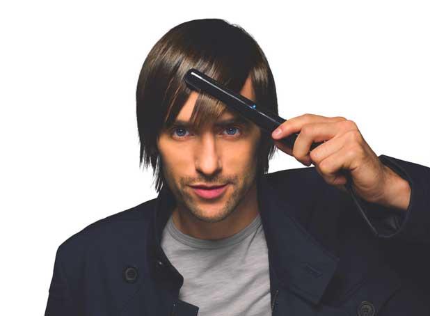 alisamento no cabelo masculino