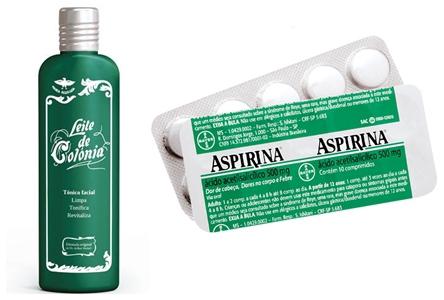 aspirina para espinhas
