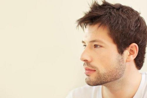 barba bonita e desenhada