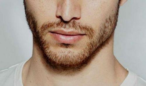 barba por fazer destaque