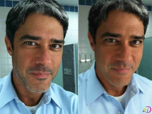barba por fazer william bonner