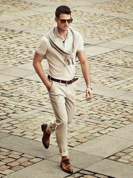 homem bem vestido