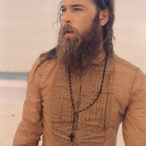 barba viking cabelo grande