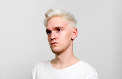 cabelo branco platinado