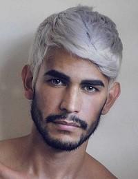 cabelo cinza homens