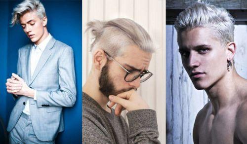 cabelo platinado branco