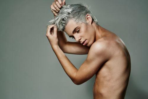 cabelo platinado masculino como fazer