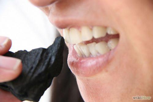 carvão para os dentes