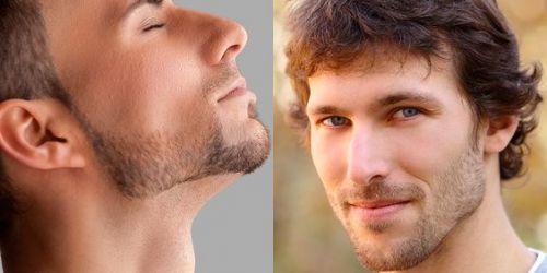 como alinhar a barba