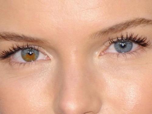 como mudar a cor dos olhos