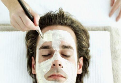 limpeza de pele homem