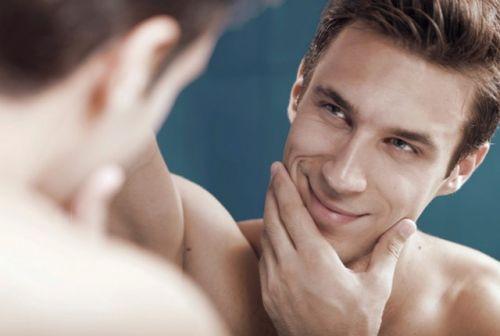 limpeza de pele masculina antes e depois
