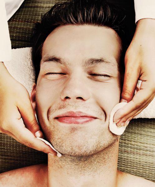 limpeza de pele masculina esfoliação