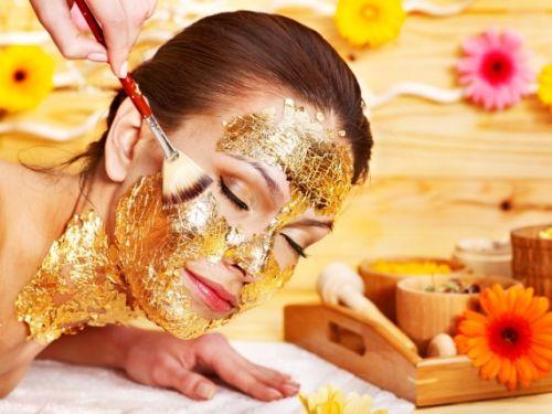 máscara de ouro destaque