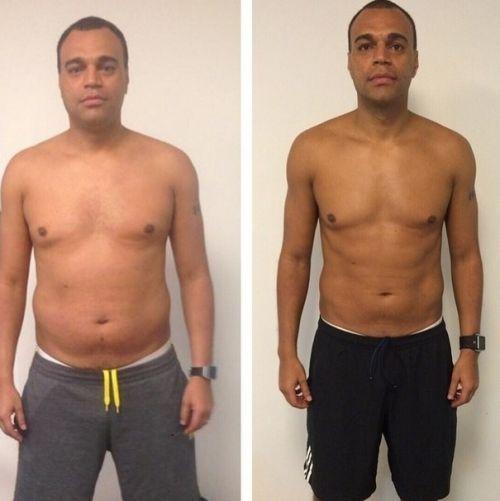 manthus antes e depois homens