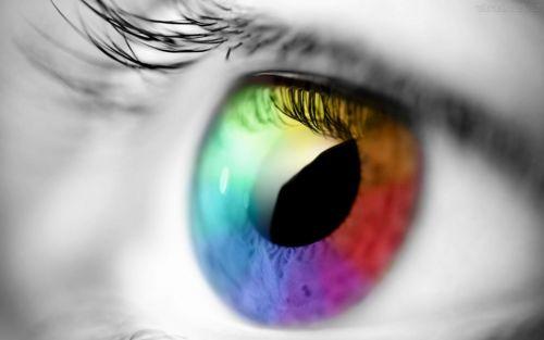 mudar a cor dos olhos como fazer