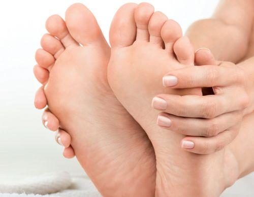 rachadura nos pés cuidados