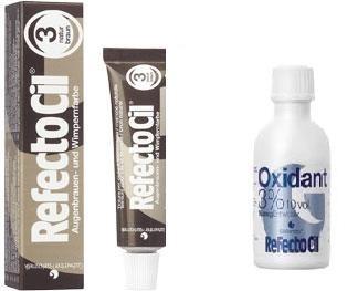 refectocil e oxidante