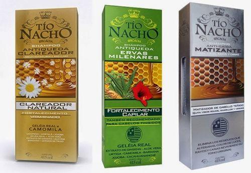 shampoo tio nacho tipos