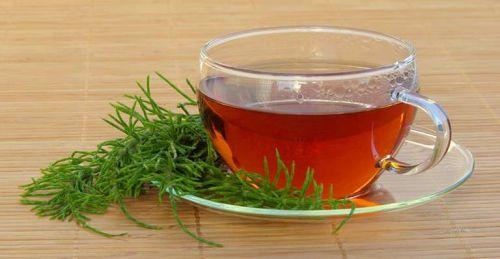 chás para emagrecer cavalinha