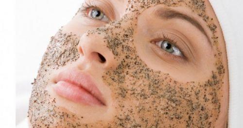 esfoliante para o rosto com açúcar