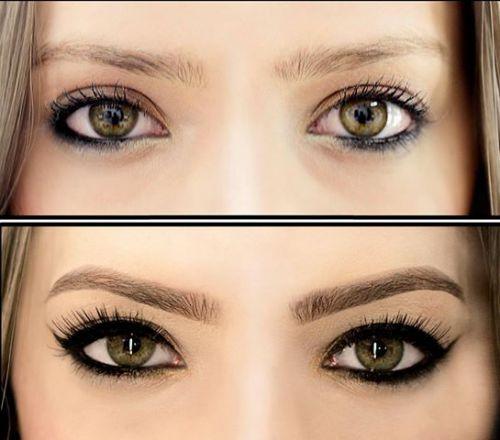 micropigmentação antes e depois