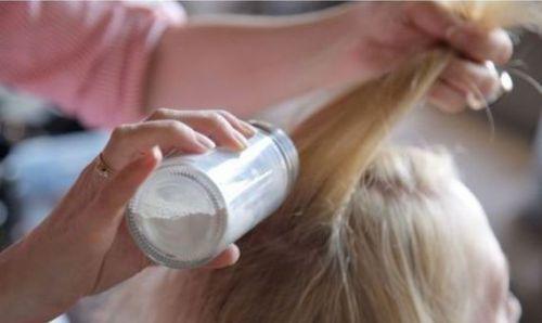 shampoo a seco caseiro