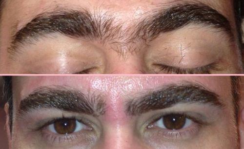 sobrancelha masculina formatos