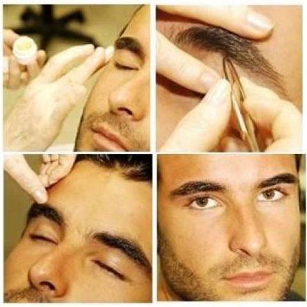 sobrancelha masculina passo a passo como fazer