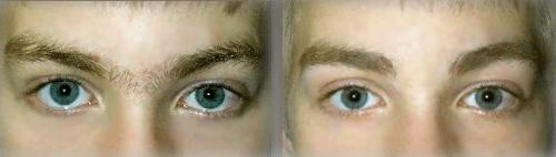 sobrancelha masculina resultados