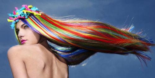 cabelo arco-íris/rainbow dicas e passo a passo