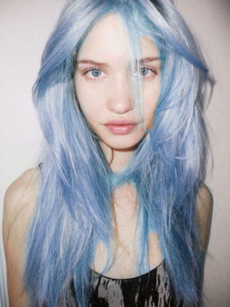 cabelo cinza azulado como fazer