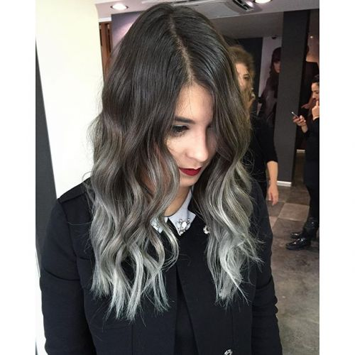 cabelo cinza silver