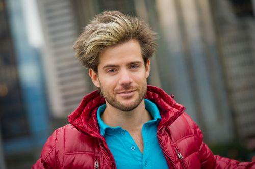 cabelo masculino com luzes